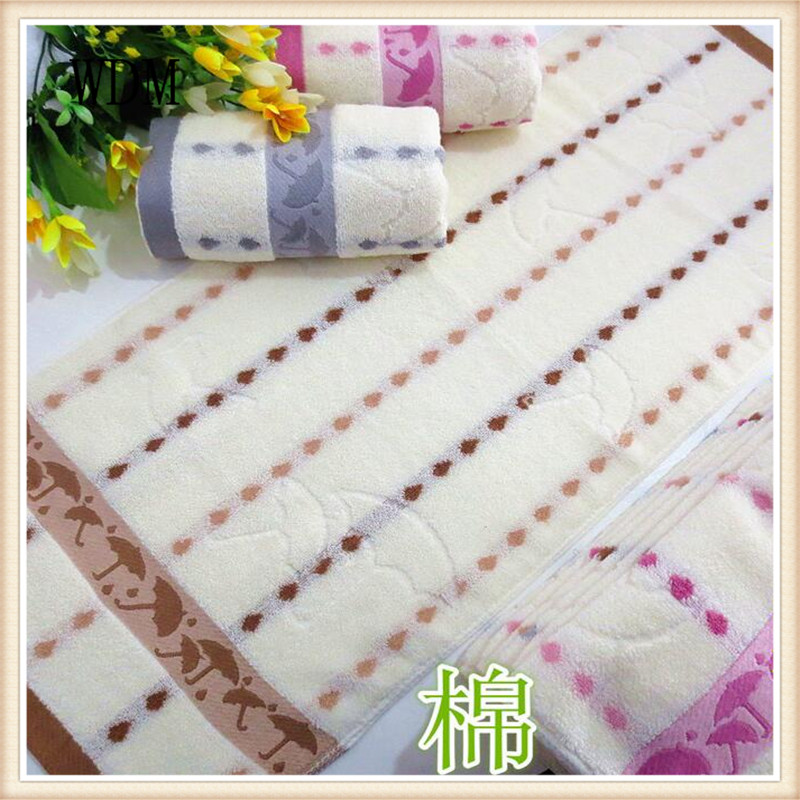 100%  cotton towel  any color 75*34  100g