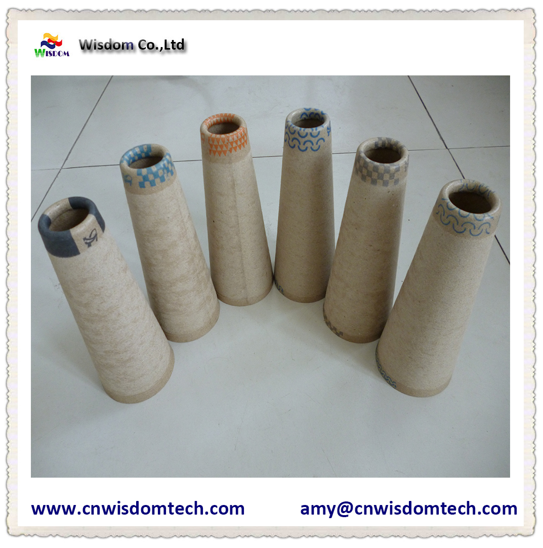 5.32 vortex spinning  yarn textile paper cone taper paper tube